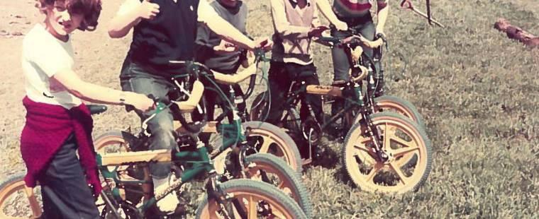 28 Bike riders June 1988