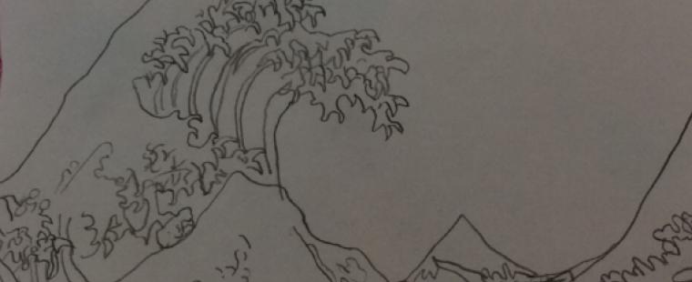 isha-wave-drawing
