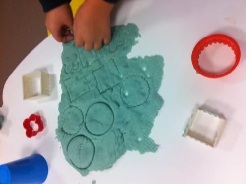 Creative play with homemade playdough 1 - 10 Feb 2015