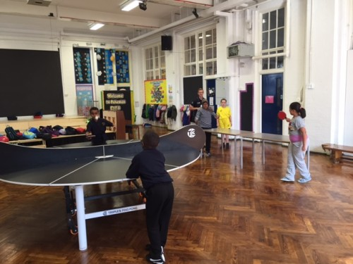 Lunchtime Table Tennis - Sept 2015